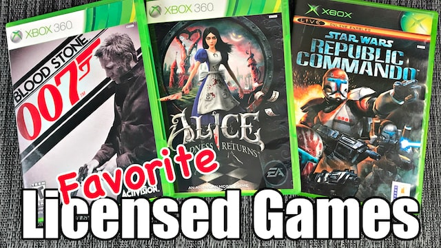Favorite LICENSED GAMES: TV, Books & Movie HIDDEN GEMS – Metal Jesus Crew ANSWERS