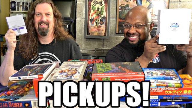 GAME PICKUPS w/ Reggie – 44 more games in the Collections!