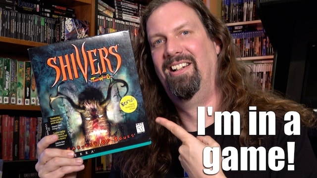 I was in a HORROR VIDEO GAME in 1997 called SHIVERS 2: Let's PLAY IT!