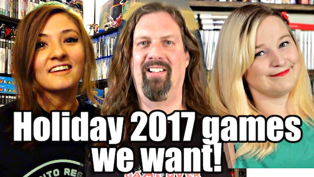 NEW HOLIDAY 2017 Games We REALLY, REALLY Want! (PS4/XBOX One/Switch/PC)