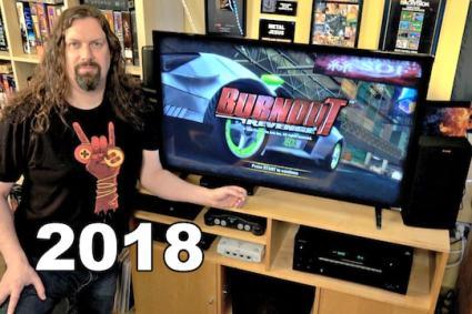 Game Room Audio/Video Setup Tour 2018!
