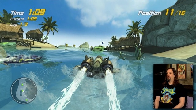 Let's Play HYDRO THUNDER HURRICANE (Xbox 360 Arcade)