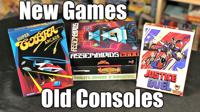 NEW GAMES for OLD Consoles – 6 Games for NES, SNES & Atari 2600