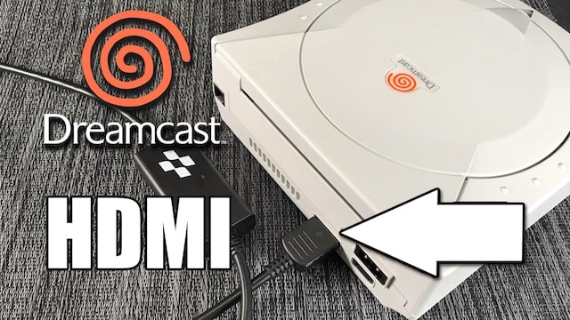 Dreamcast HDMI Cable Review – 100% Plug & Play – No mod needed!