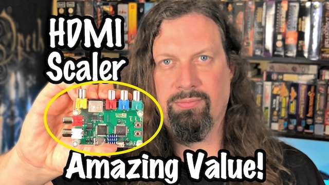 Ultra-low latency HDMI converter for Gaming (8bit/16bit/32bit) – Only $100 AMAZING!!