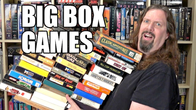 Unboxing Big Box PC & Amiga Donations – 45 Games!