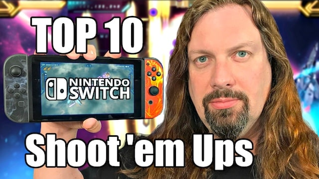 Top 10 Switch – Shoot 'em Ups Games + Honorable Mentions! (SHMUPS)