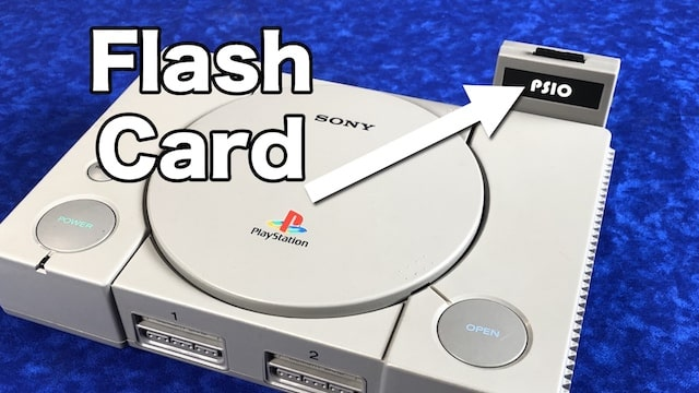 PlayStation PSIO – SD Flash Drive for your PS1