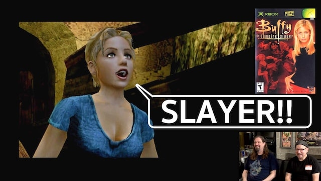 Let's Play Buffy the Vampire Slayer – XBOX w/ Drunken Master Paul
