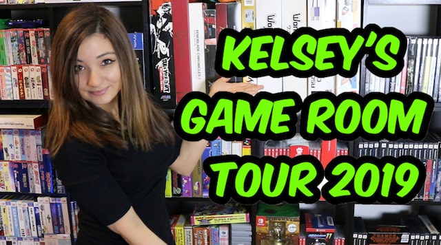 Kelsey's Game Room Tour 2019!