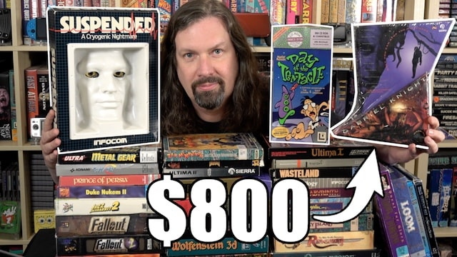 Stupidly Expensive Big Box PC Games – $800 Sealed?!?