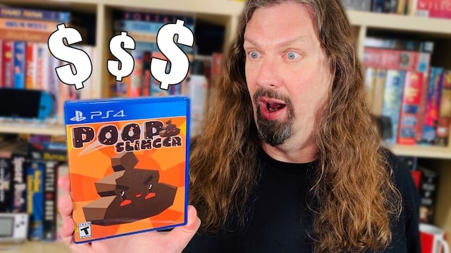 Here's Why POOP SLINGER on PS4 is $500 and Shooting Up in Value
