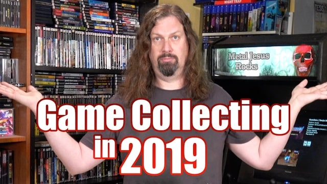 Starting to COLLECT GAMES in 2019? The ADVICE you NEED!