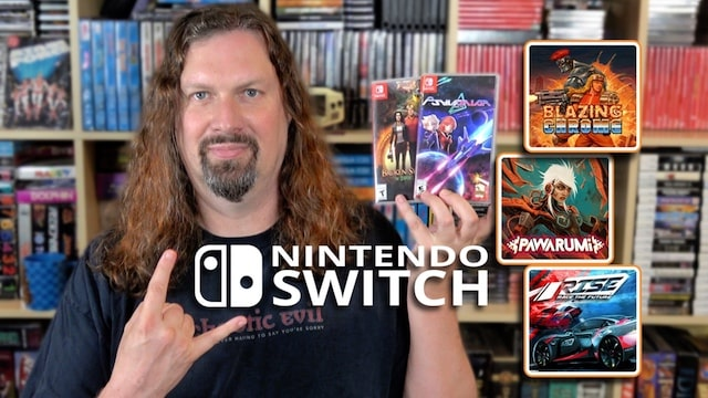 Here are 5 NEW Games I'm playing on SWITCH – Both physical and digital games!