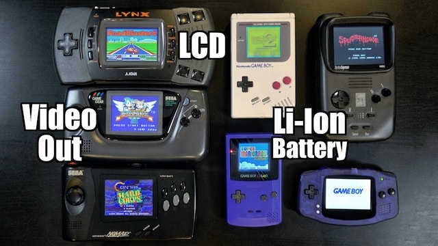 MODS & UPGRADES you can do to your HANDHELDS! Screens, Li-ion Batteries & More!