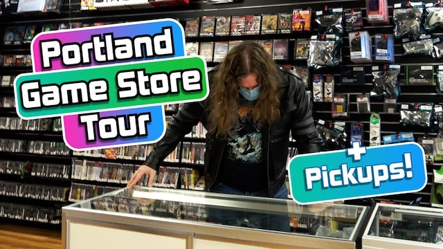 VIDEO GAME HUNTING in Portland! + PICKUPS! (PS1, PS2, PS4, 3DS, DS)