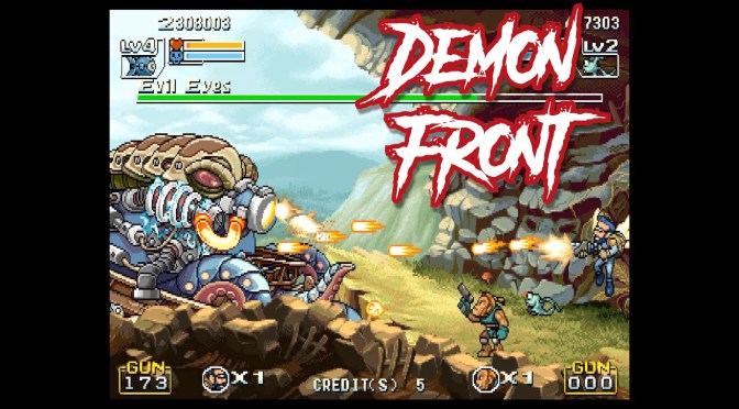 Demon Front (Arcade) – A Metal Slug-like arcade shoot em up!