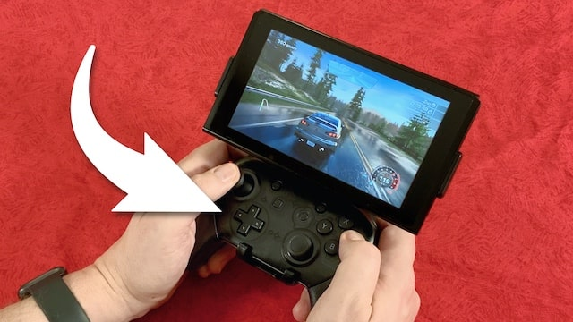 Fixture S1 Review – Mount to use Switch Pro Controller in Handheld mode