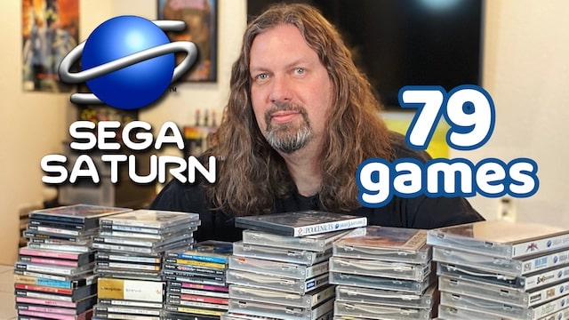 My Sega Saturn Game Collection (Rare + Japanese Imports + More!)