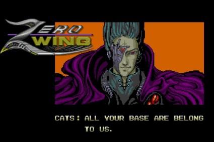 Zero Wing (Genesis) running on Analogue MegaSG (1080p)