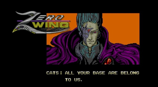 Zero Wing (Genesis) running on Analogue MegaSG (1080p)