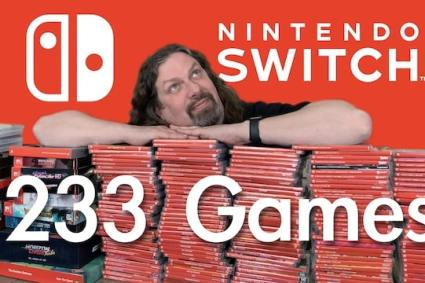 My SWITCH Game Collection! (233 GAMES: Rare, $$$ & Weird)