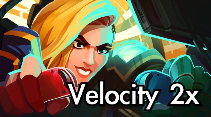 Velocity 2x (Switch) – Review & Gameplay