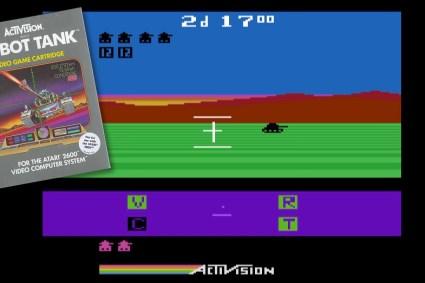 Robot Tank – Review & Gameplay (Atari 2600)