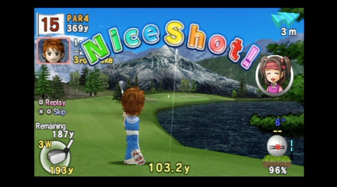 Hotshots Golf Open Tee 2 (PSP) Review & Gameplay