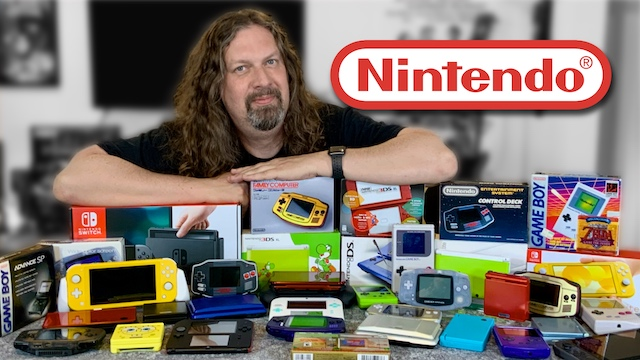 My NINTENDO HANDHELDS Collection! (Game Boy, GBA, DS, 3DS, Switch & More)
