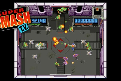 Super Smash TV (SNES) Gameplay & Quick Review