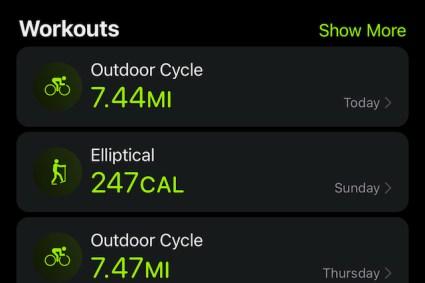 MJR Health – Long Bike Rides