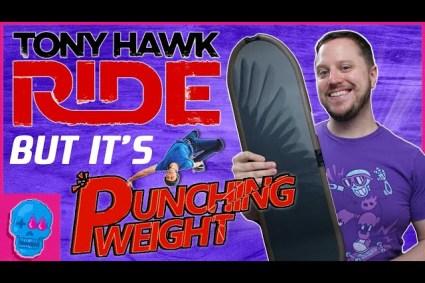 Secrets of the Tony Hawk Ride Board | Punching Weight [SSFF]