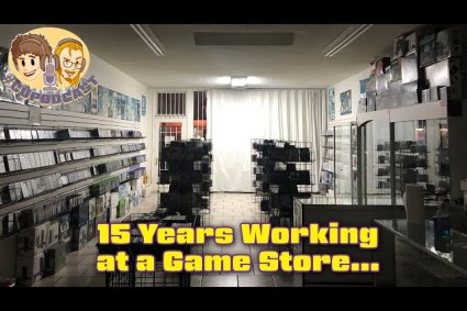 Working at a Video Game Store for 15 Years – CUPodcast