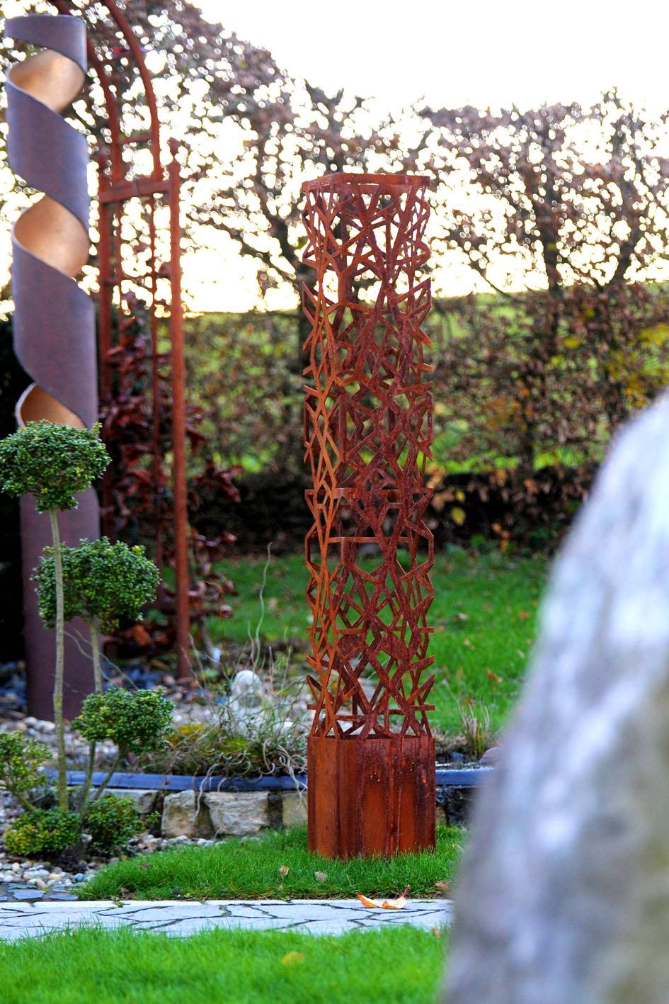Garten Dekoration Aus Stahl Edelstahl Metallbau