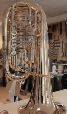F-Tuba Meteora, Hochglanzpoliert und lackiert