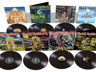 Iron Maiden to reissue classic 80's albums on vinyl