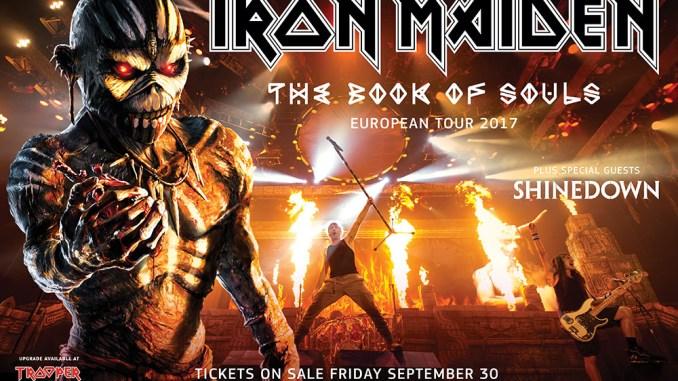 Iron Maiden European Tour 2017