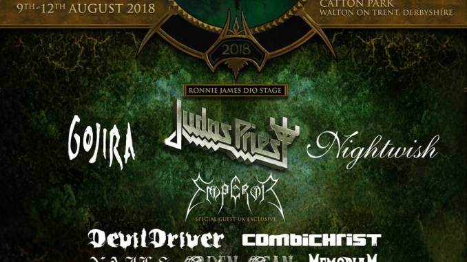 4 more bands added to the Bloodstock 2018 line up
