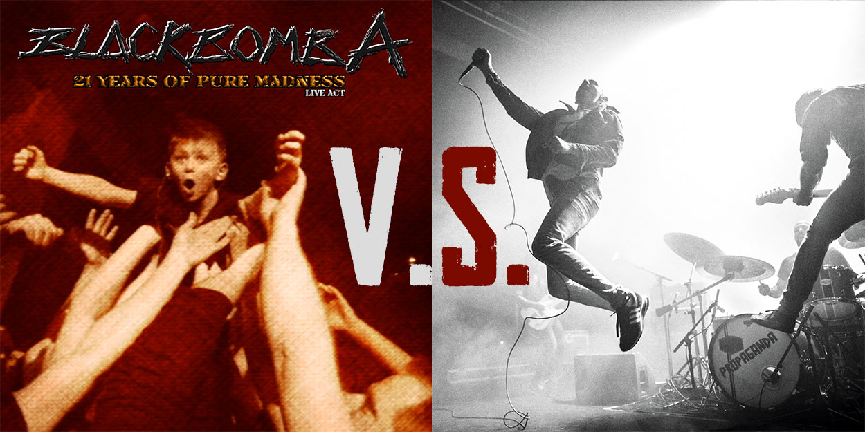 You are currently viewing BLACK BOMB A vs NO ONE IS INNOCENT <br/> 21 years of pure madness / Barricades live