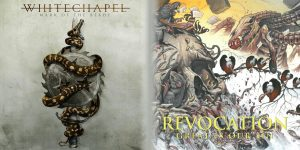 WHITECHAPEL – Mark Of The Blade <br/> REVOCATION – Great is Our Sin