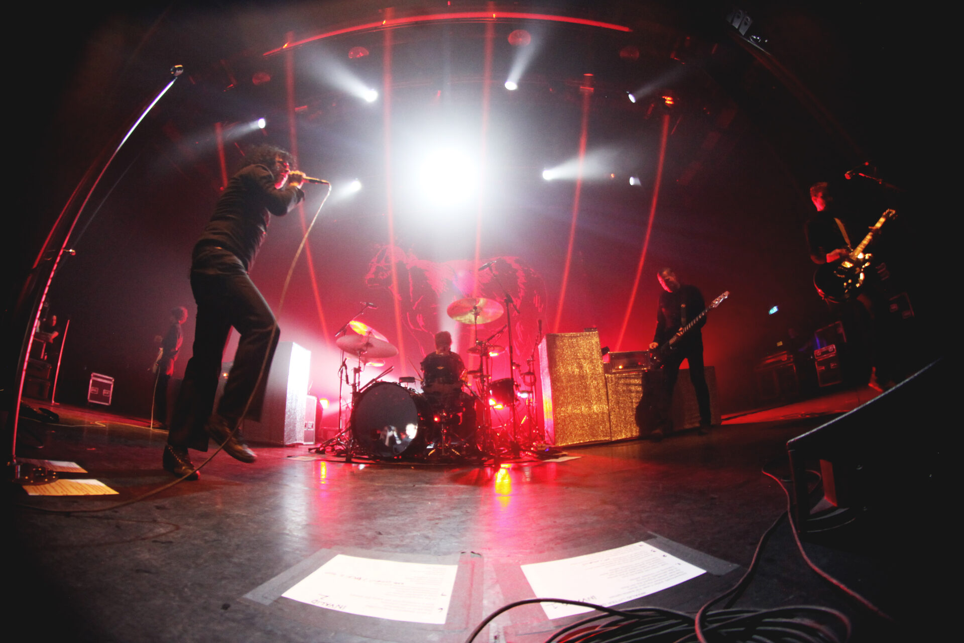 You are currently viewing AT THE DRIVE IN : <br/> le retour (surpuissant) du groupe d'El Paso !