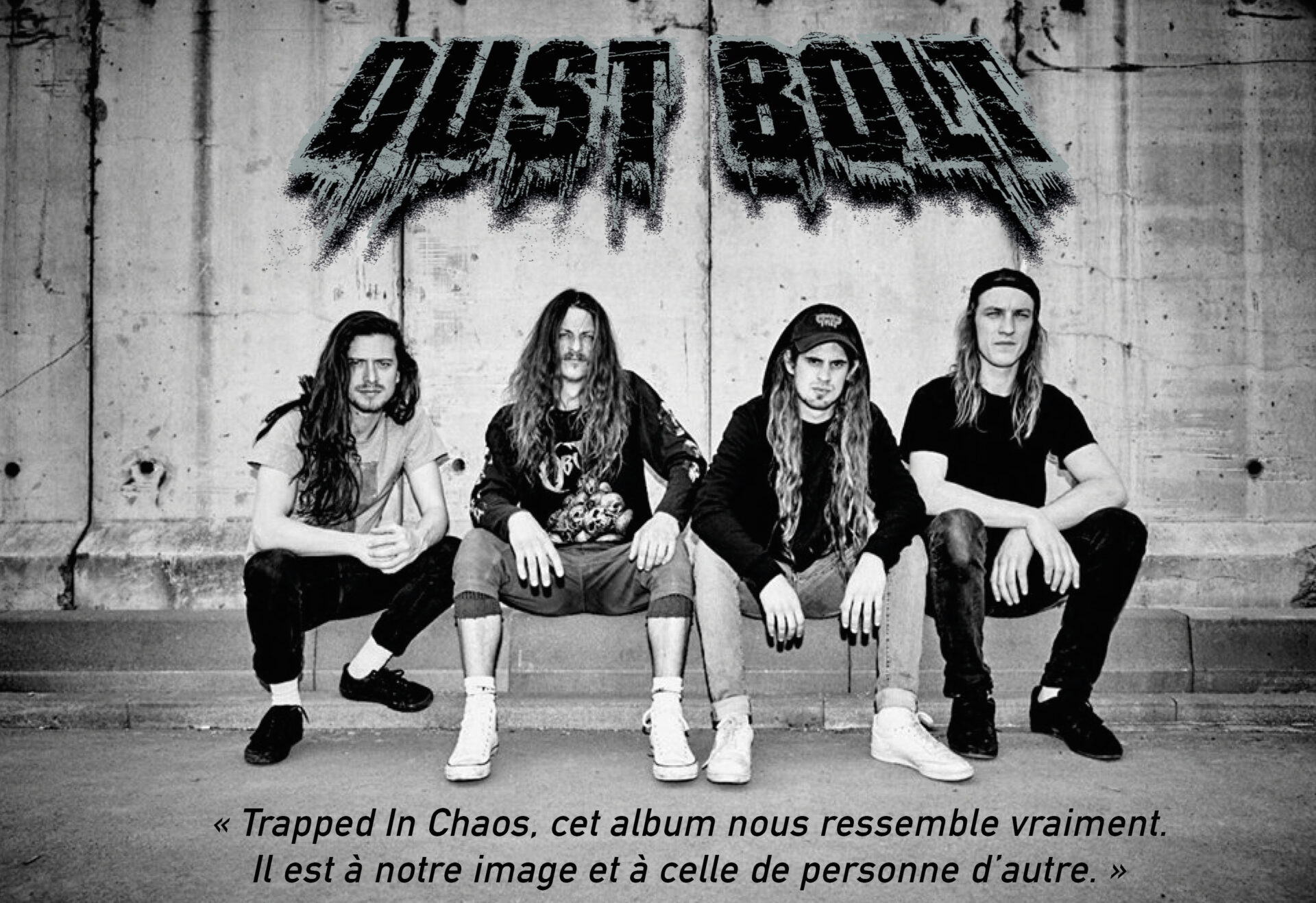 You are currently viewing Dust Bolt nous parle de Trapped In Chaos