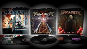 MEGADETH <br/> United Abominations <br/> Endgame <br/> Th1rt3en <br/> remastered