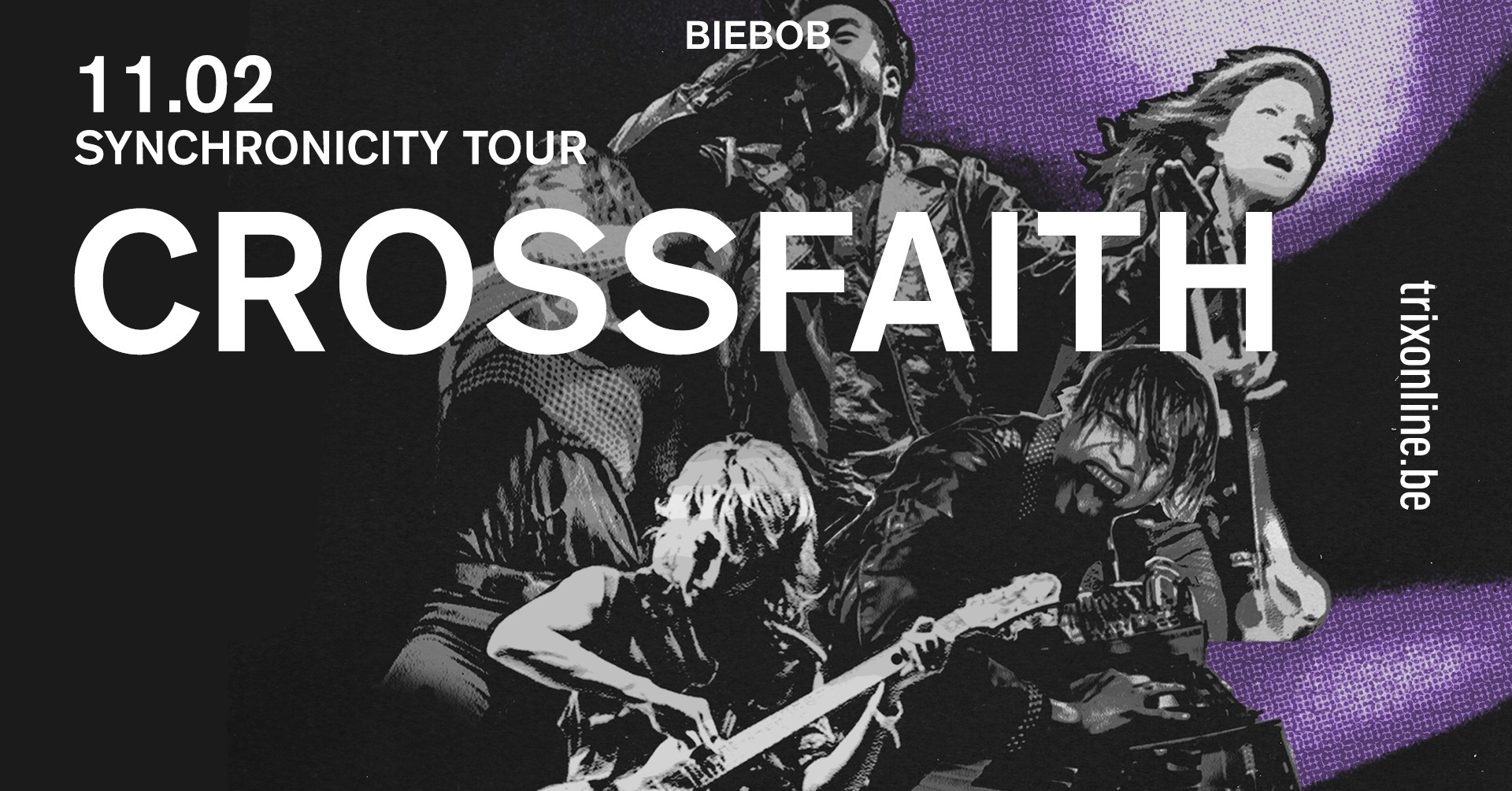 CROSSFAITH : Live Report @ Anvers (11.02.20)