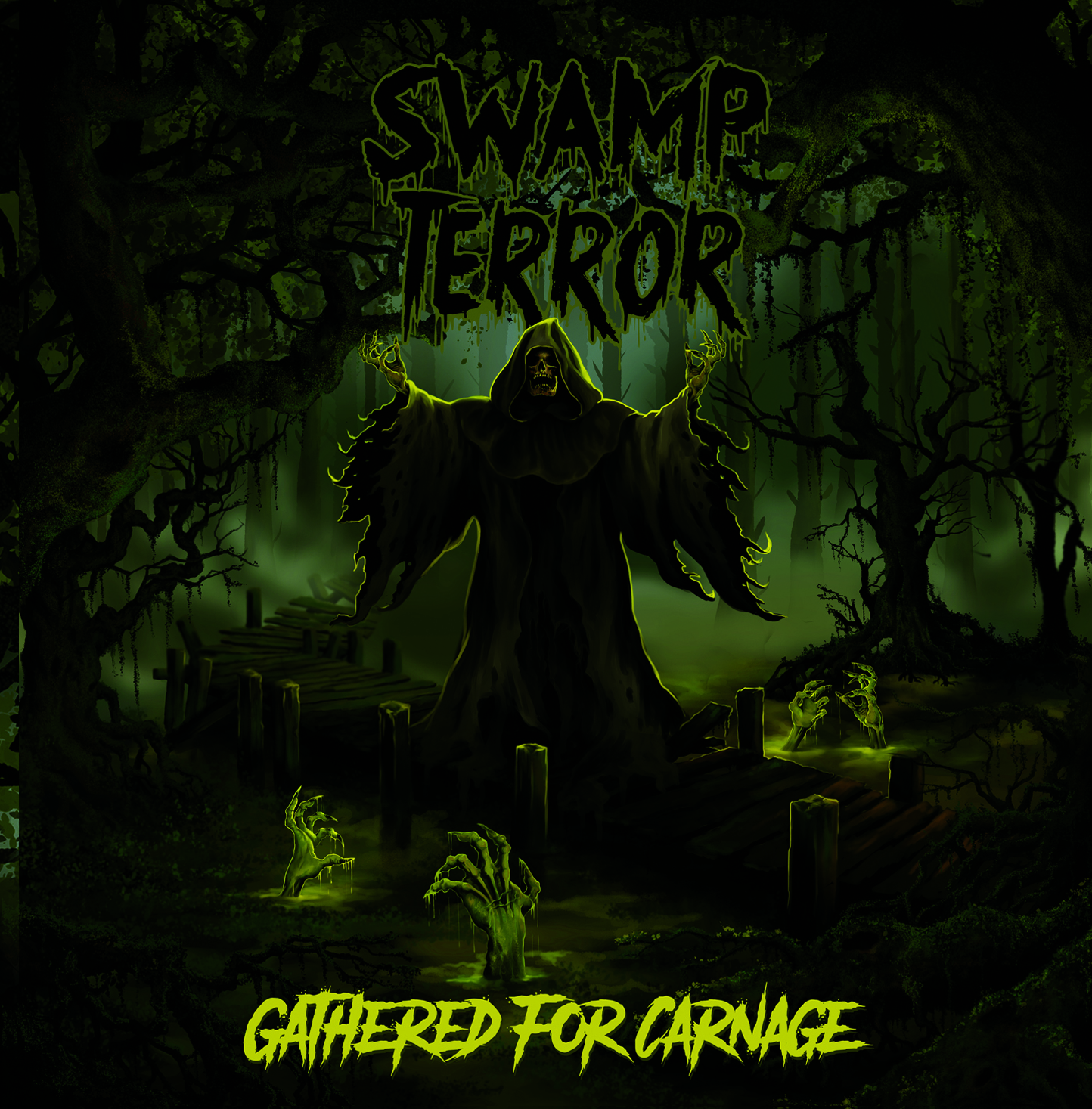 SWAMP TERROR : Gathered For Carnage