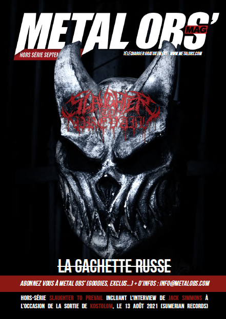 You are currently viewing Hors Série été 2021 : Slaughter To Prevail