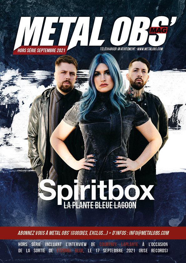 Read more about the article Hors-série septembre 2021 : SPIRITBOX