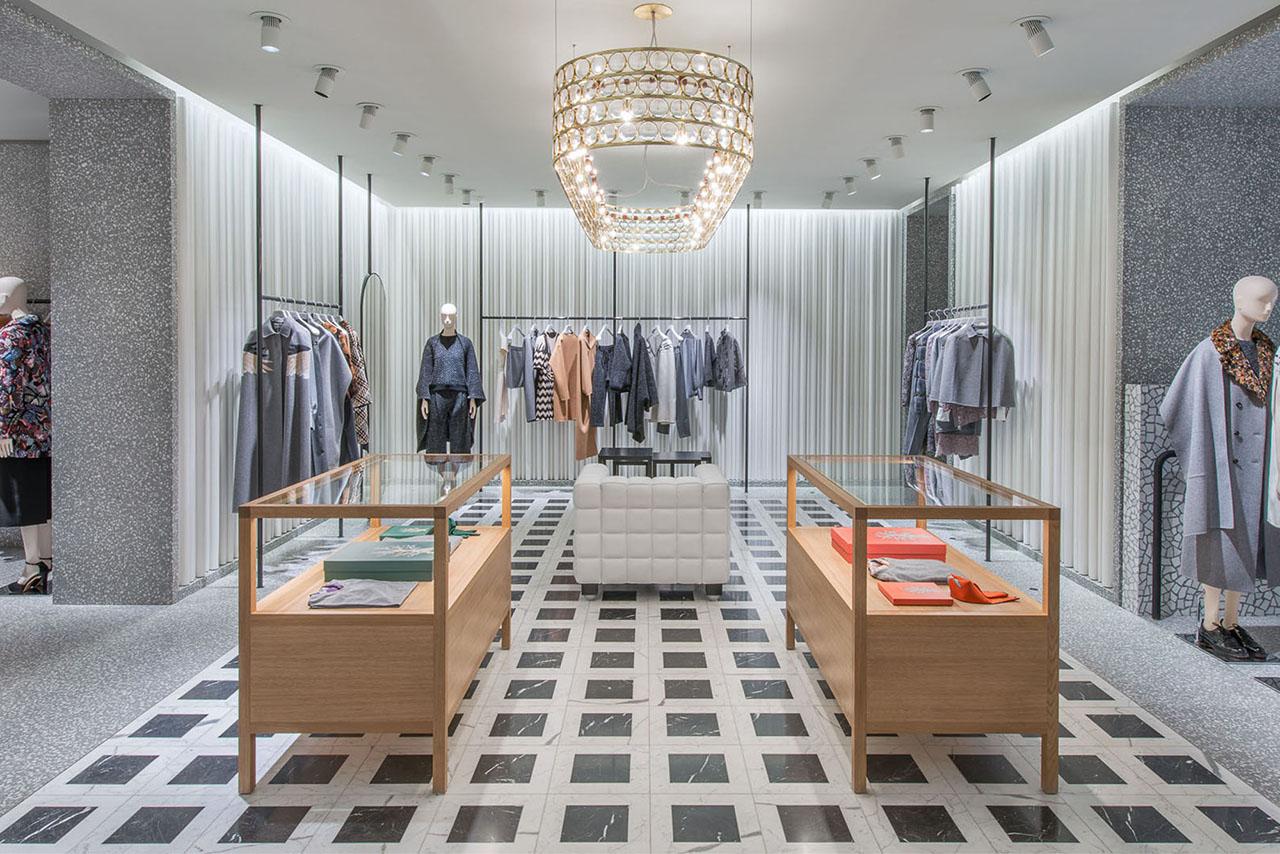 Nueva Tienda de Valentino en Nueva York Por David