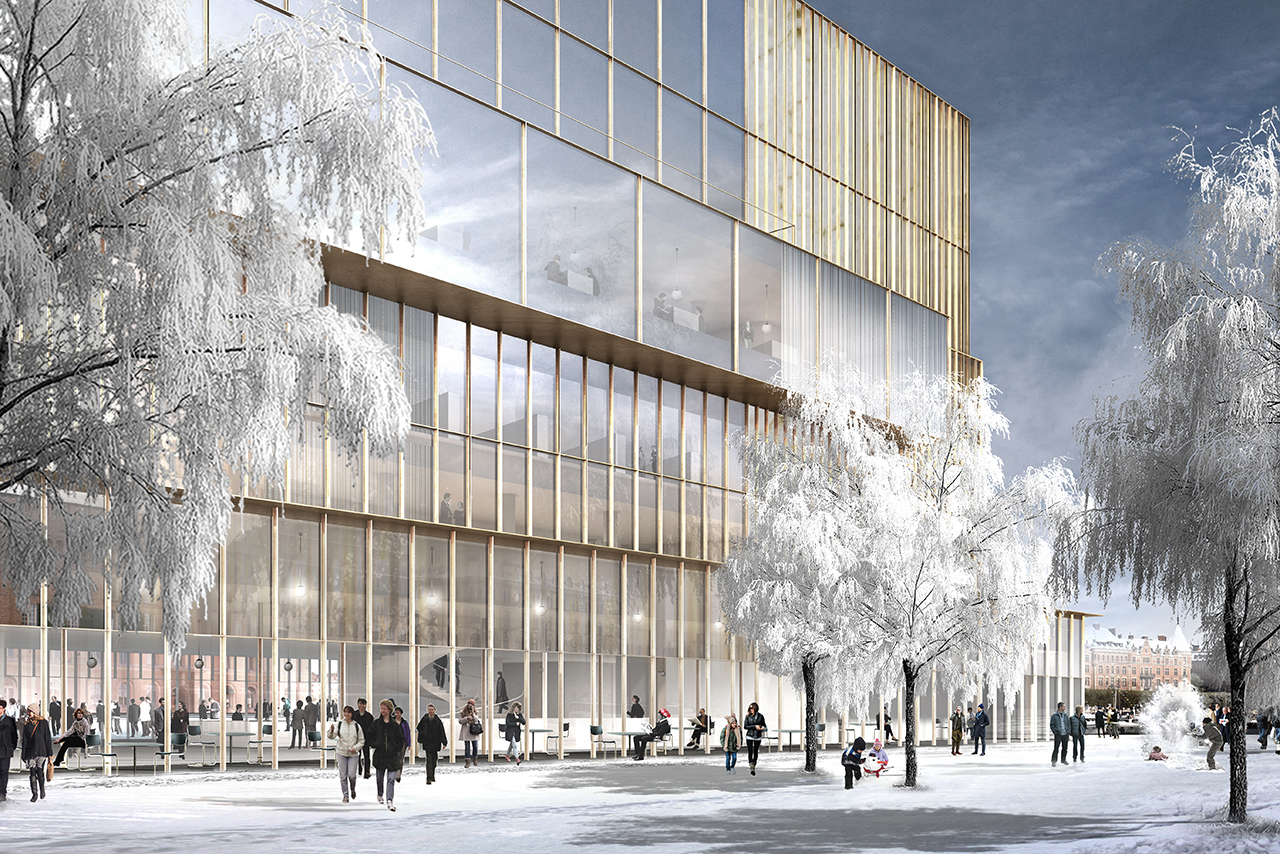 David Chipperfield winner in Nobel Center competition